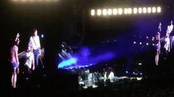 Se declara a su novia en el concierto de Paul McCartney en el