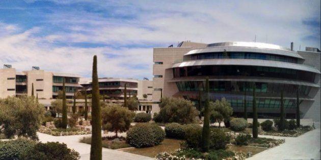 Registros en la sede del Santander en una investigación por blanqueo al