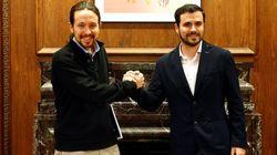 Pablo Iglesias cree en la continuidad del pacto IU-Podemos:
