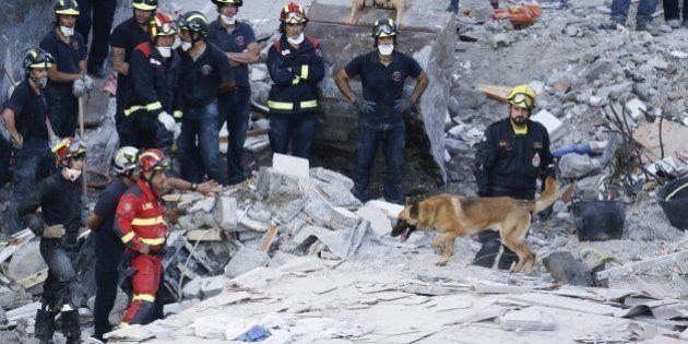 Ascienden a 7 los cuerpos recuperados del edificio hundido en Los