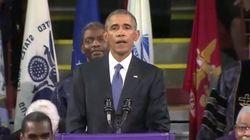 Emocionante: Obama canta 'Amazing Grace'