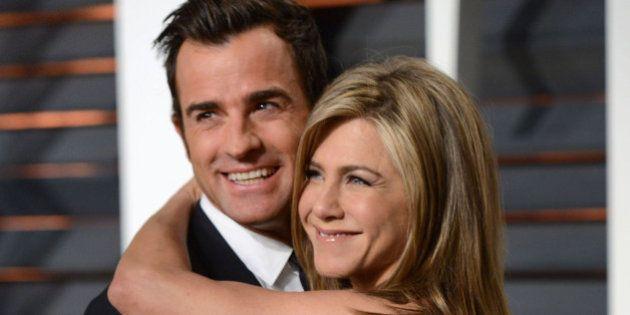 El marido de Jennifer Aniston, Justin Theroux, habla sobre el divorcio de Angelina Jolie y Brad