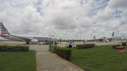 Cuba recibe el primer vuelo comercial desde EEUU en más de 50