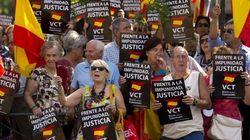 Protestas contra la puesta en libertad de