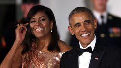 Michelle Obama, im-presionante en la última cena de estado de