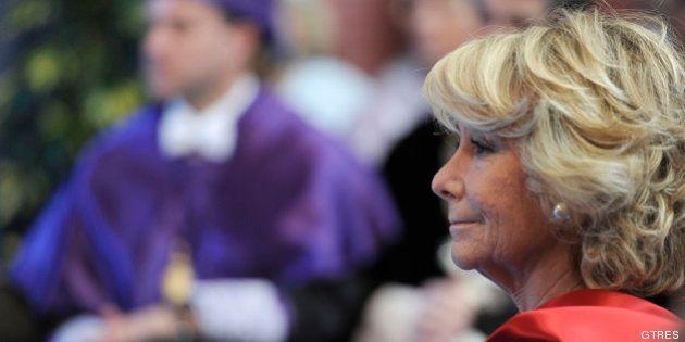 Esperanza Aguirre cree que el déficit a la carta aprobado por el Gobierno