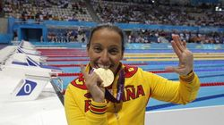Teresa Perales iguala a Phelps con 22 medallas en los