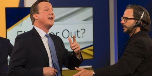 Una estudiante, a David Cameron: