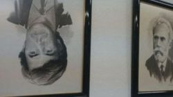 Aparece boca abajo un retrato de Felipe González en la sede socialista de Torrent