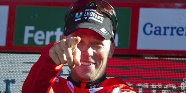 Chris Horner, líder de la Vuelta a España, cumplirá 42 años el próximo mes de