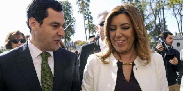 El PP corteja a C's en Andalucía para presionar al PSOE y