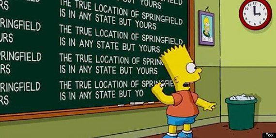 Surge una nueva pista sobre la ubicación del Springfield de 'Los