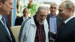 Fidel reaparece... junto a Putin