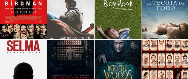 La lista de todos los nominados a los Oscar