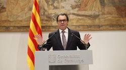 Mas adelanta las elecciones catalanas al 27 de