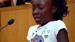 La niña que emocionó al mundo al denunciar la violencia policial contra los