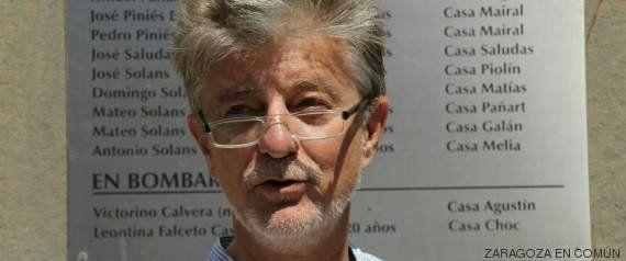Pedro Santisteve, nuevo alcalde de Zaragoza: