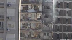 Espectacular explosión de una caldera en Rosario (VÍDEO,
