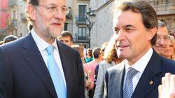 Rajoy escribe a Mas: le pide