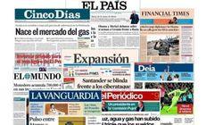 Revista de prensa: Luz, agua y gas, más