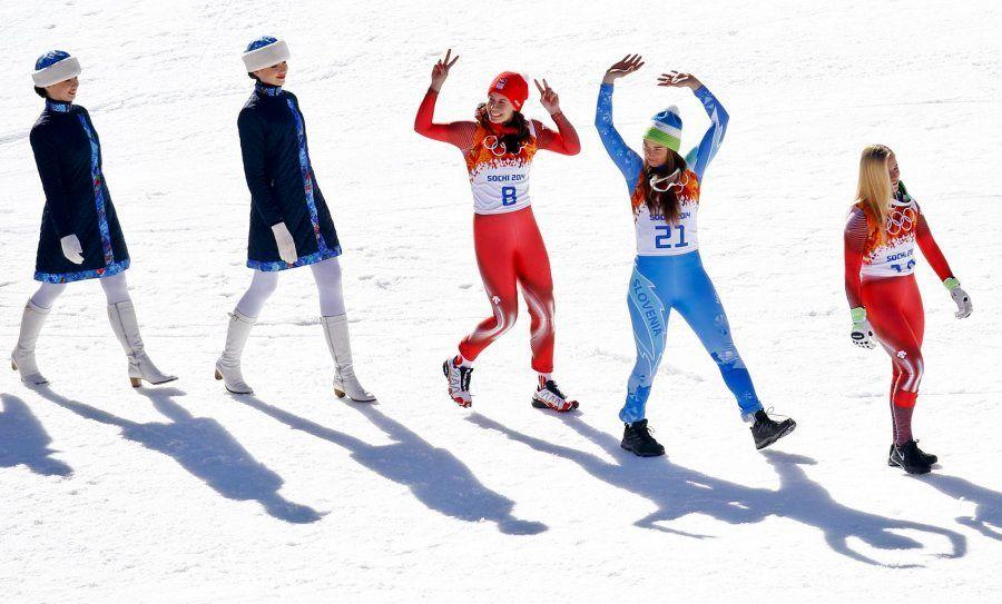 Sochi 2014: Empate histórico por el oro en esquí alpino