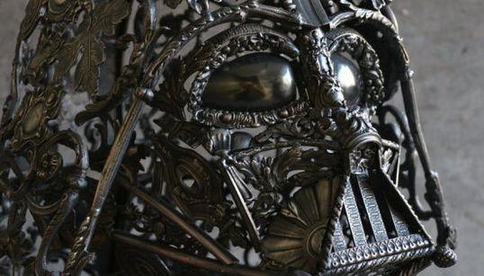 El casco de Darth Vader más bonito que has visto