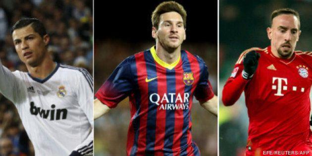 Messi, Ronaldo y Ribery, nominados a Mejor Jugador Europeo de la UEFA