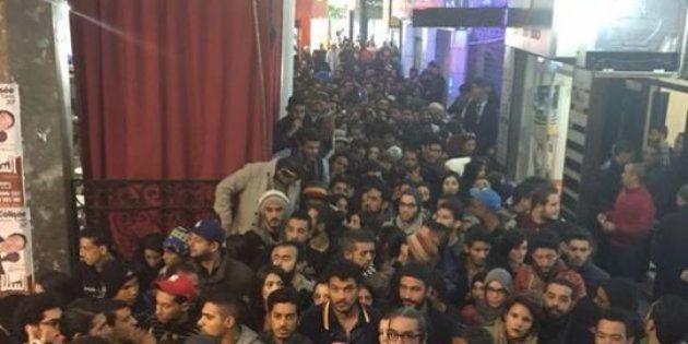 Colas impresionantes en Túnez para ver la película censurada 'Much