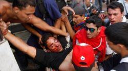 Tres muertos y 23 heridos en una protesta contra