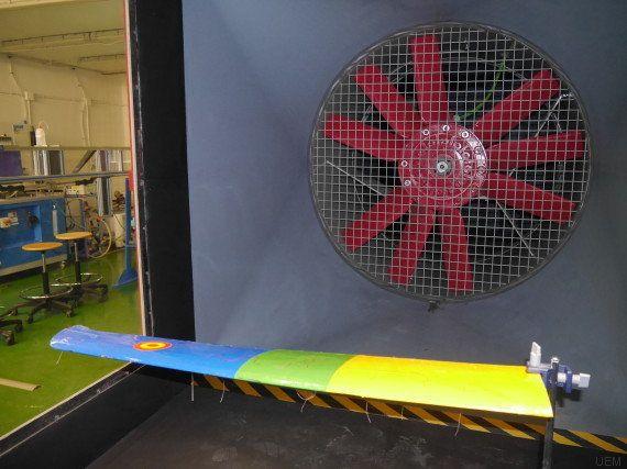 Túnel de viento: donde los aviones