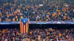 La UEFA sanciona al Barça por la exhibición de esteladas en el Camp