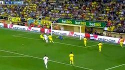 Este es el primer gol de Bale con el Madrid