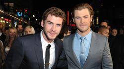 Chris y Liam Hemsworth, pique de hermanos a través de