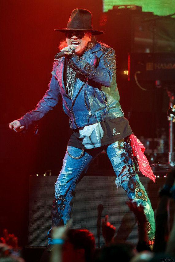 AC/DC ficha a Axl Rose, líder de Gun N'Roses, para la gira