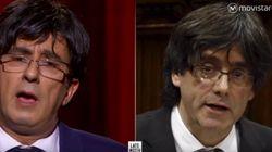 Buenafuente se ríe de su parecido con Carles Puigdemont en el primer 'Late