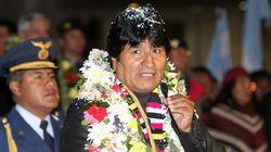 Evo Morales, un héroe a su vuelta: