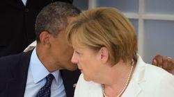 Obama y Merkel acuerdan una reunión para tratar el espionaje de
