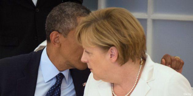 Obama y Merkel acuerdan una reunión de alto nivel entre funcionarios para tratar el espionaje de