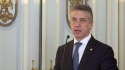 Urkullu pide perdón a las víctimas del terrorismo por la