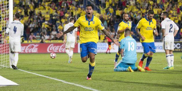 Piden 11 meses de prisión para el delantero de Las Palmas Araujo por negarse a pasar un