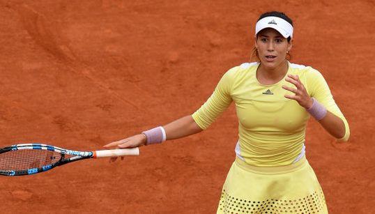 La felicidad irrefrenable de Garbiñe Muguruza tras vencer en Roland Garros