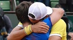 Feliciano y Marc López ganan la final de dobles de Roland