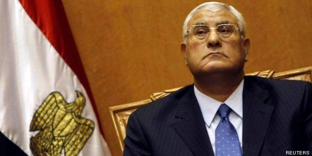 Adli Mansur jura como presidente de Egipto apelando a la Primavera Árabe y prometiendo