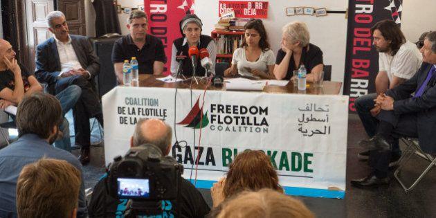 Teresa Forcades abandona la Flotilla de la Libertad por 'fuerte
