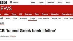El BCE cierra el grifo a los bancos griegos, según la