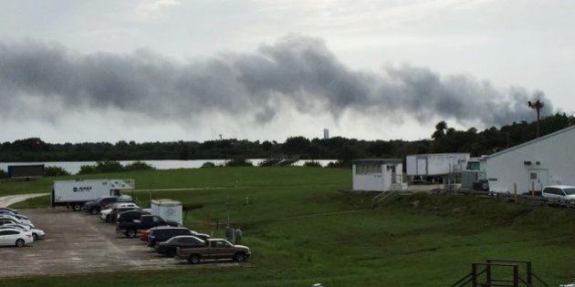 Un cohete de SpaceX explota en Cabo