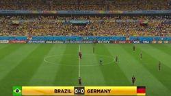 El vídeo que muestra la goleada de Alemania sin jugadores de