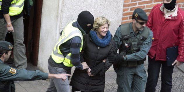 El juez envía a la cárcel a los ocho detenidos en la operación contra el 'frente de cárceles' de