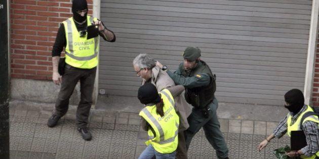 Los detenidos de ETA machacaron un pendrive, rompieron ordenadores e intentaron