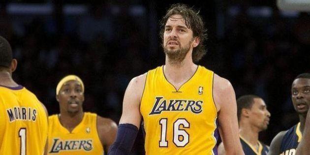 Gasol deja los Lakers y se marcha a los Chicago
